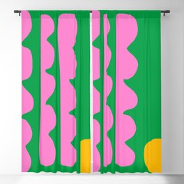 Spring Whimsy Blackout Curtain