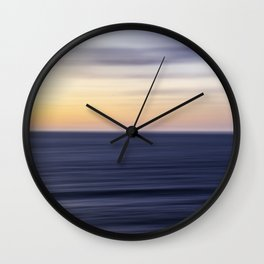 Calming Sunset II Wall Clock