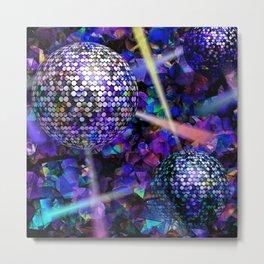 Disco (Jewel tones) Metal Print
