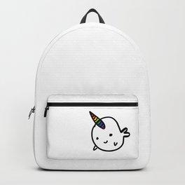 CUTE NARWHAL - RAINBOW HORN Backpack
