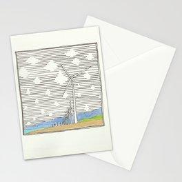 Bangui Wind Farms, Ilocos Norte, Philippines Stationery Cards