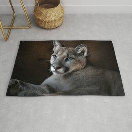 The Mountain Lion Rug