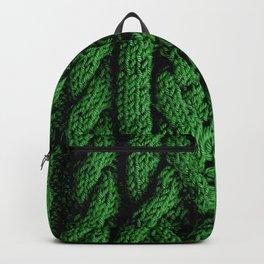 Irish sweater (green) Backpack