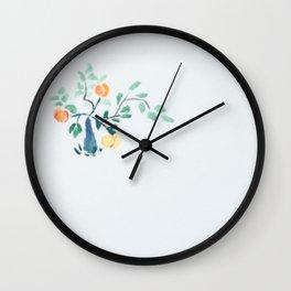Liam's Chinese Peach Bonsai Wall Clock