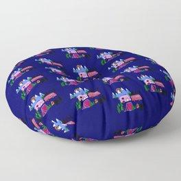 Lady Bed Rock Floor Pillow