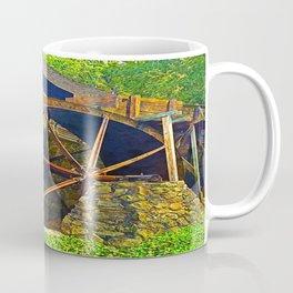 Gristmill Water Wheel Coffee Mug