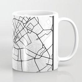 Minsk Light City Map Coffee Mug