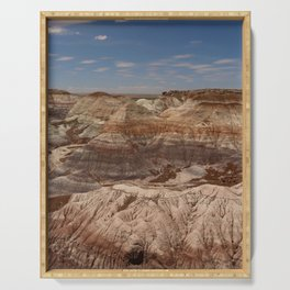 Colors Of The Painted Desert Serving Tray