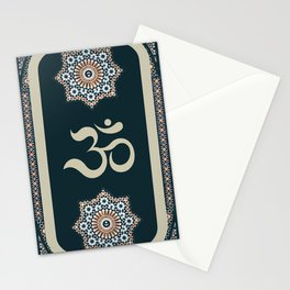 Mosaic Om Stationery Cards