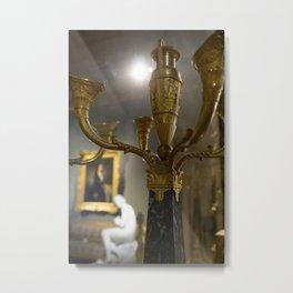 Milan museum room Metal Print