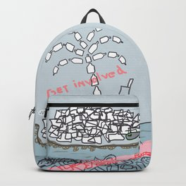 Plastic Isle Backpack