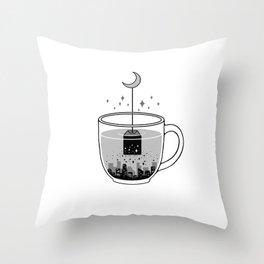Please Brew Me a GoodNight Throw Pillow