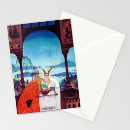 Kay Nielsen - A King Who Arrives In A White Country Stationery Cards