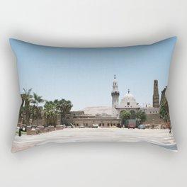 Temple of Luxor, no. 19 Rectangular Pillow