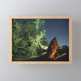 The Lost Elm Framed Mini Art Print
