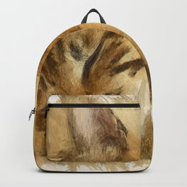 Let Sleeping Cats Lie Backpack