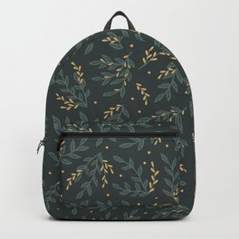 Beautiful Landscapes Scenery Leaves Pattern Backpack