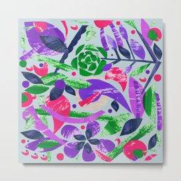 Natural world purple Metal Print