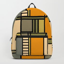 Frank Lloyd Wright Inspired Art Backpack