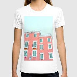 Old Coastal Town Buildings T-shirt