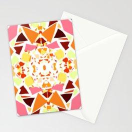 Nougat Kaleidoscope R Stationery Cards