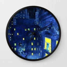 music of the night Wall Clock