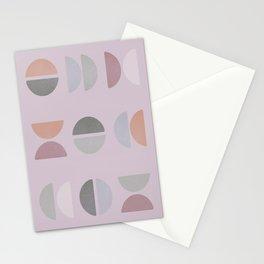 Abstract Boho Geometric Shapes Stationery Cards