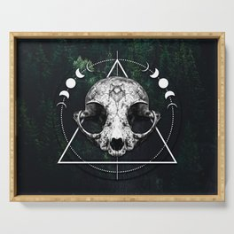 Animal Skull Occultist Serving Tray
