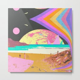 SEARCHING FOR SOMEWHERE Metal Print