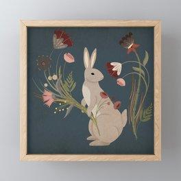 Gathering The Soft Beauty Of Autumn Framed Mini Art Print
