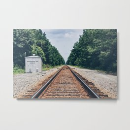 Railroad Metal Print