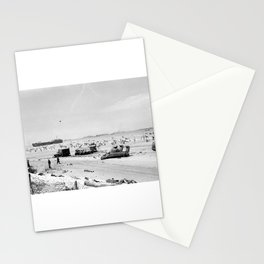 Normandy Invasion (Omaha Beach) Stationery Cards