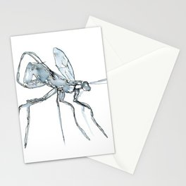 Mosquito, Watercolor Stationery Cards