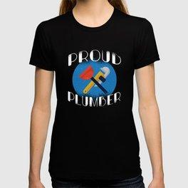 PROUD PLUMBER T-shirt