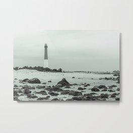 Barnegat Light - New Jersey Metal Print