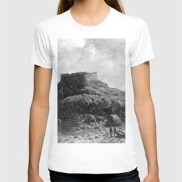 Fort Dumpling, Jamestown, Rhode Island, Narragansett Bay by George L. Clough T-shirt