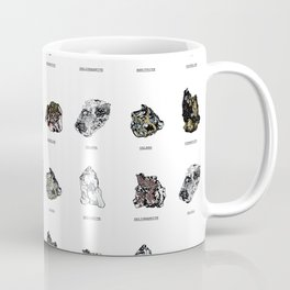 Rock collection with names Coffee Mug