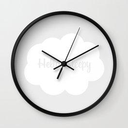 Hello, Sleepy Wall Clock