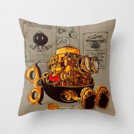 Work of the genius Throw Pillow