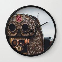 Clear Vision Wall Clock