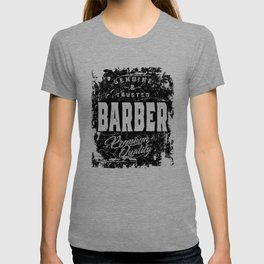 Genuine and Trusted Barber Job Title Gift T-shirt