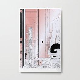 Scenes de Lit / Bedroom scenes III Metal Print