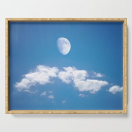 Daytime - Gibbous Moon Serving Tray