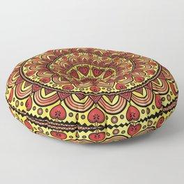 Mandala _ HEARTS Floor Pillow
