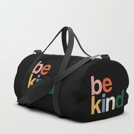 be kind colors rainbow Duffle Bag