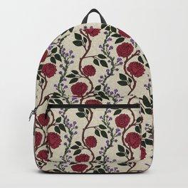 Vintage Rose Garlands Backpack