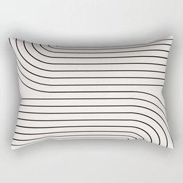 Minimal Line Curvature I Rectangular Pillow