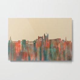 Bath, England Skyline - Navaho Metal Print