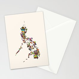 7,107 Islands | A Map of the Philippines Stationery Cards