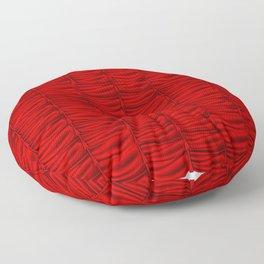 red silk curtains Floor Pillow
